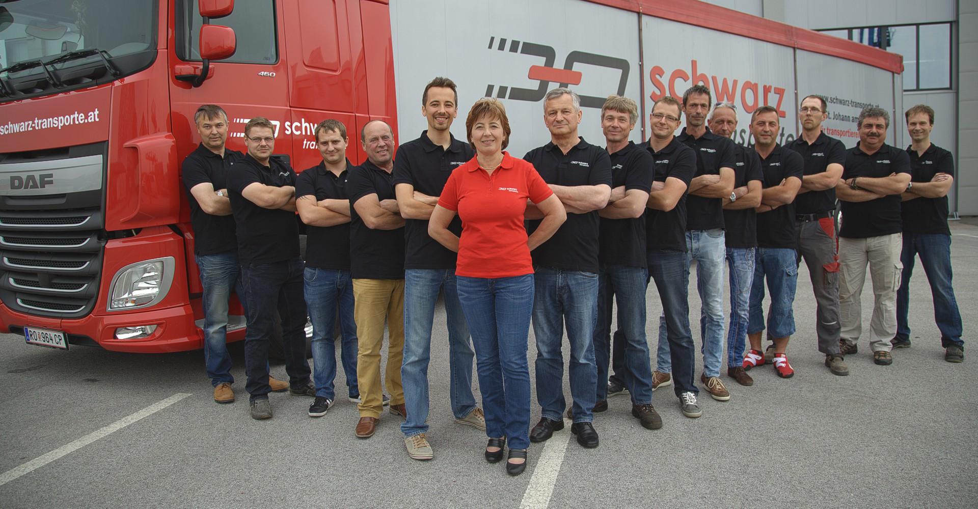 Schwarz Transporte - Team